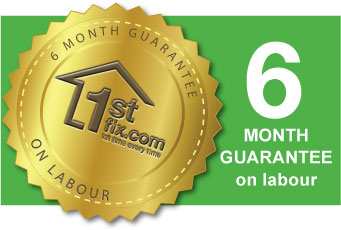 All our work carries a 6 month guarantee