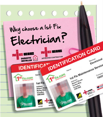 Reasons to choose a 1stfix Electrician