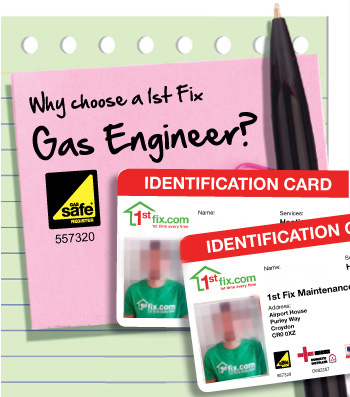 Reasons to choose a 1stfix Gas engineer