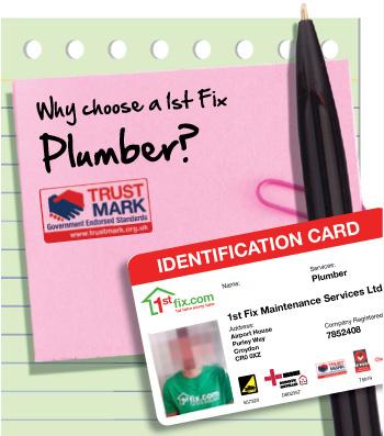 Reasons to choose a 1stfix Plumber