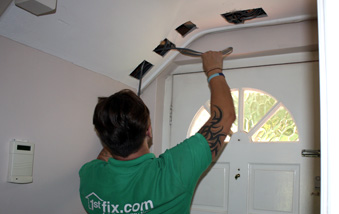 1stfix electricians at work