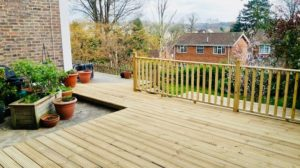 Carpentry works Purley- new decking