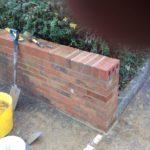 Brick wall repair Selsdon
