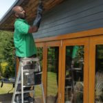 Carpentry works, Summer house in Purley