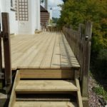 Carpentry works, new decking in Purley