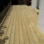 Carpentry decking in Purley