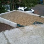Foundations for bin stores Purley