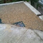 Foundation for bin store Purley