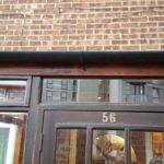 After porch door repair - Coulsdon