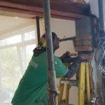 Steel beam install streatham