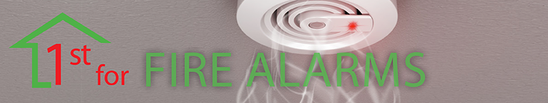 Fire Alarms page banner image