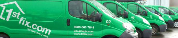 1stfix property maintenance vans