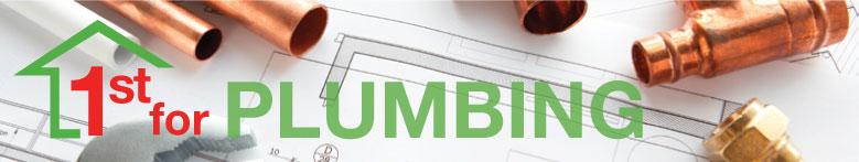 Plumbing page banner image