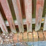 Fence repair, carpentry works