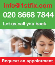 Call 1stfix for all property maintenance