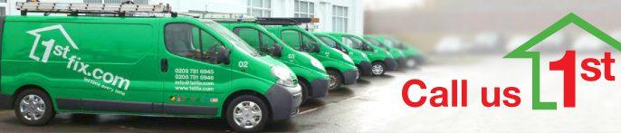 1stfix heating and plumbing vans